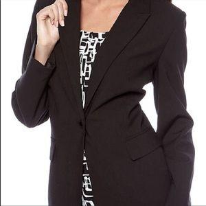 Calvin Klein Black Blazer Size 8